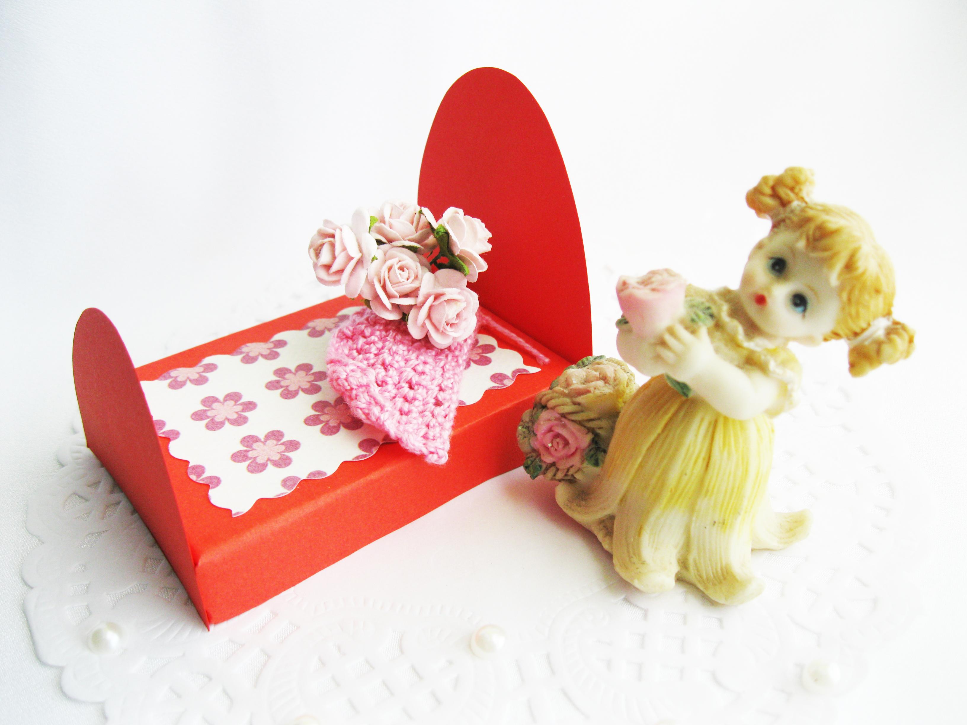 Как сделать мебель из спичечных коробков для кукол
