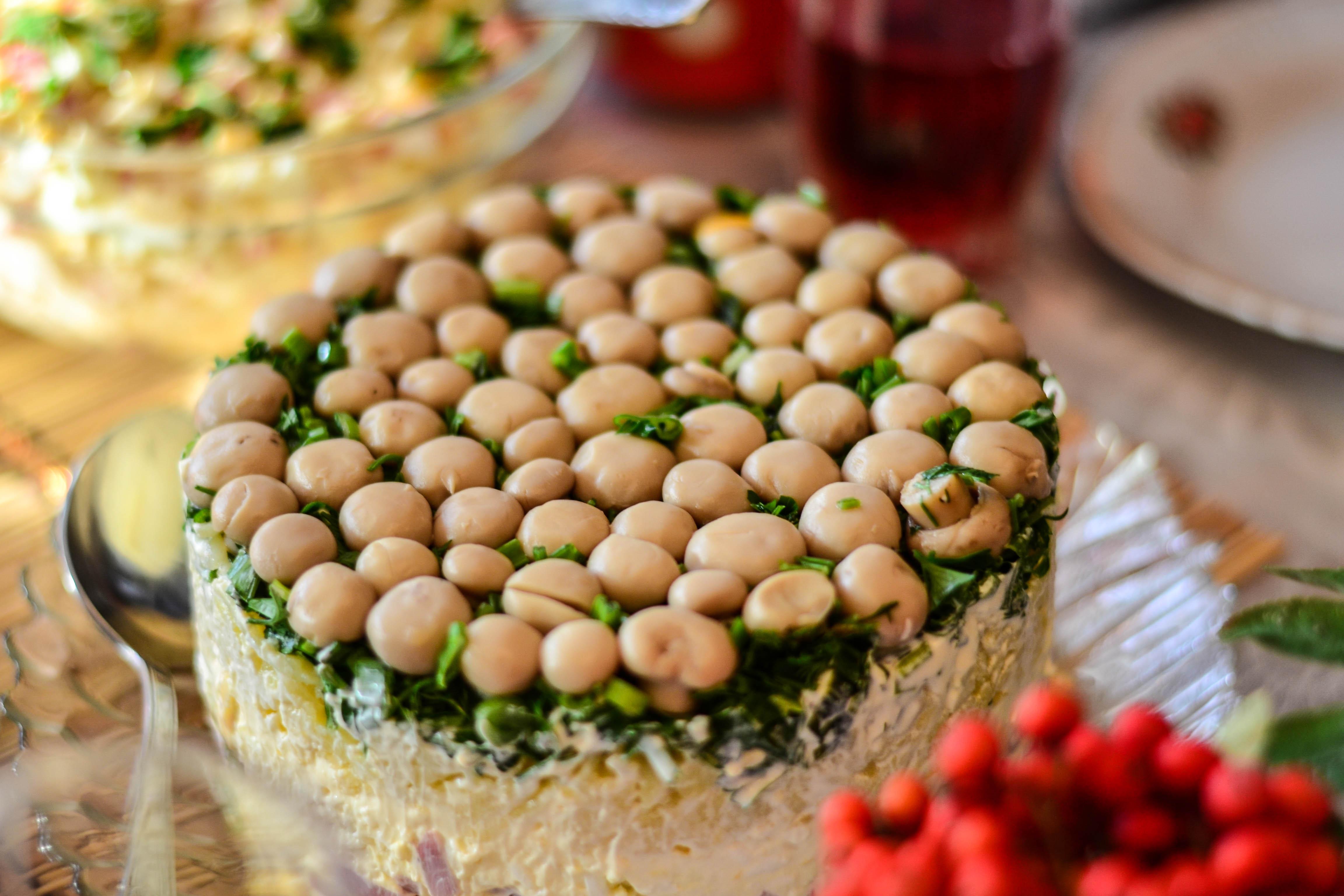 салат грибная поляна рецепт в картинках всегда была