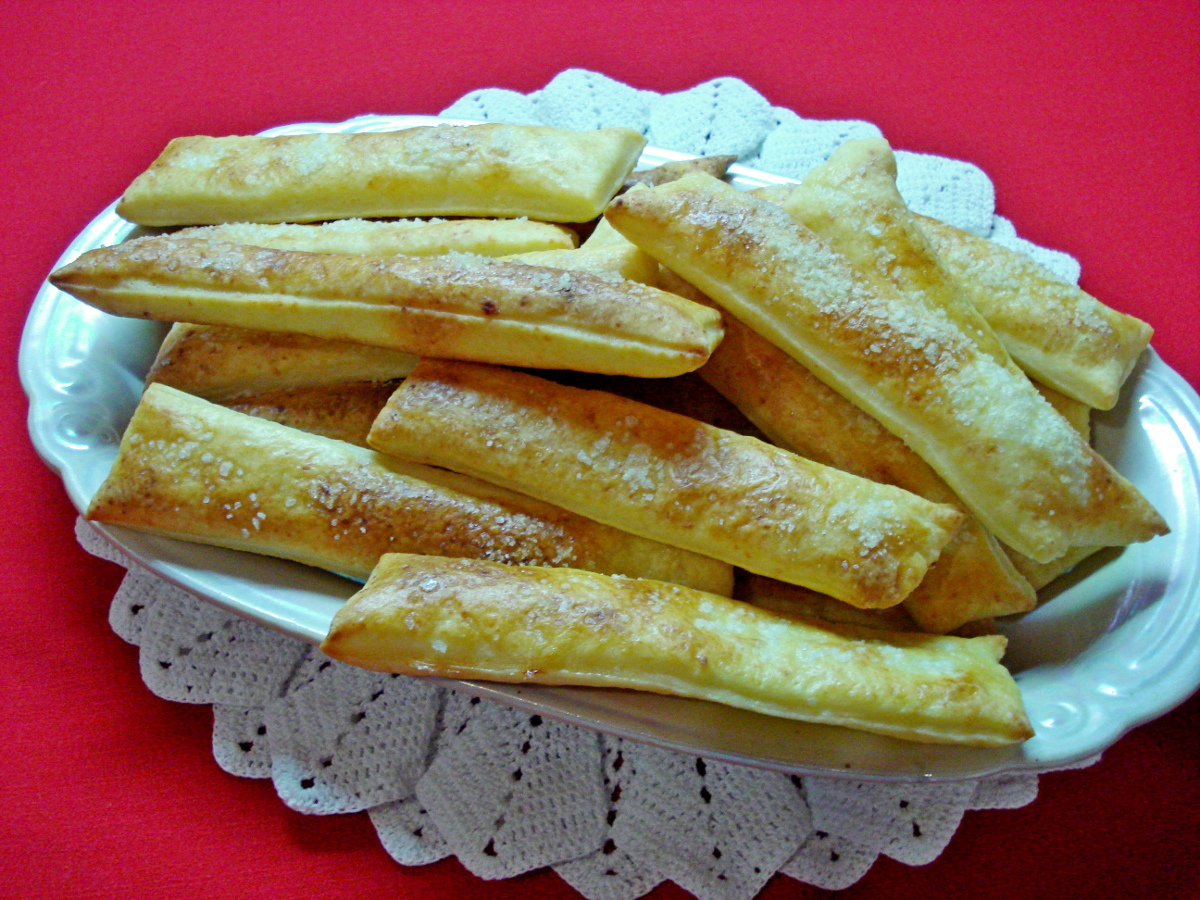 Печенье творожные палочки рецепт