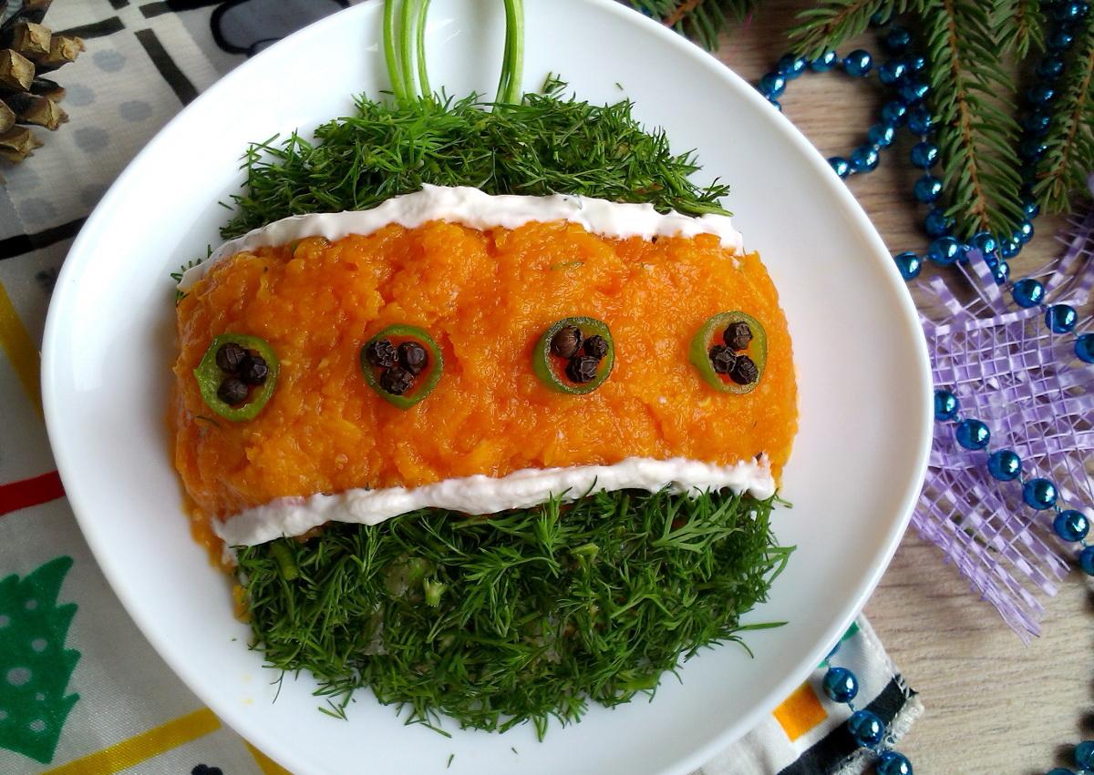 Салат новогодние шарики рецепты с фото