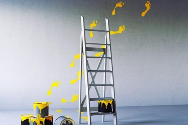 Выбор цветового сочетания для покраски потолка