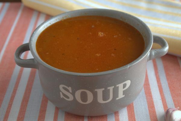 Суп-харчо с чечевицей без мяса