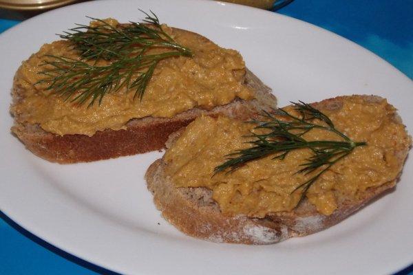 Паштет из соленой рыбы или закуска «ложная икра»