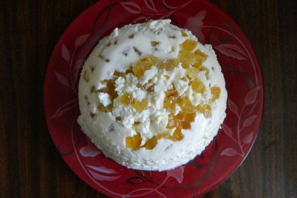 Ленивый кекс с ананасами