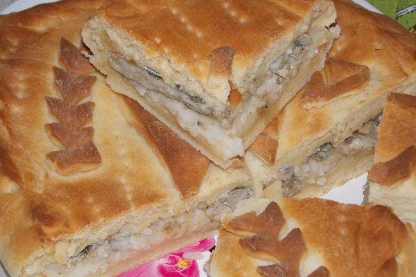 Пирог с мойвой и рисом рецепт с фото пошагово