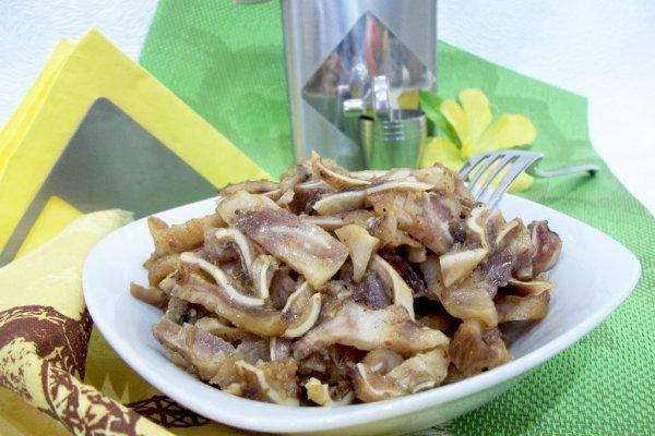 Свиные ушки маринованные по-корейски