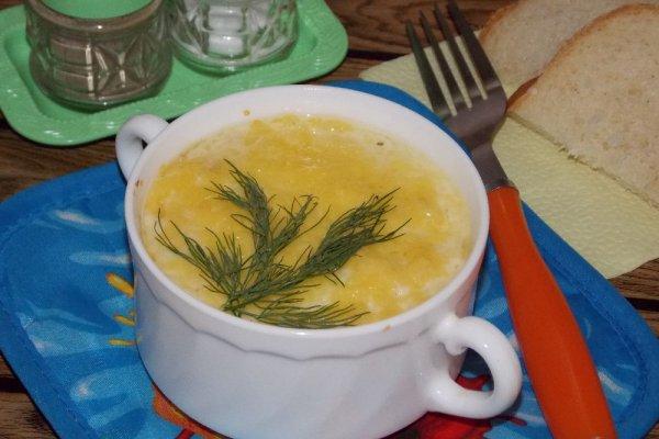 Жульен из курицы с картошкой в порционных формах