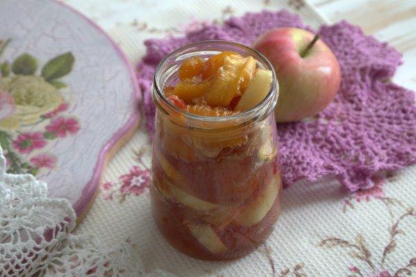 Персиково-яблочное варенье на зиму