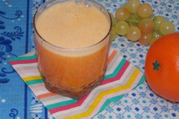Апельсиновый фреш с морковью и имбирём