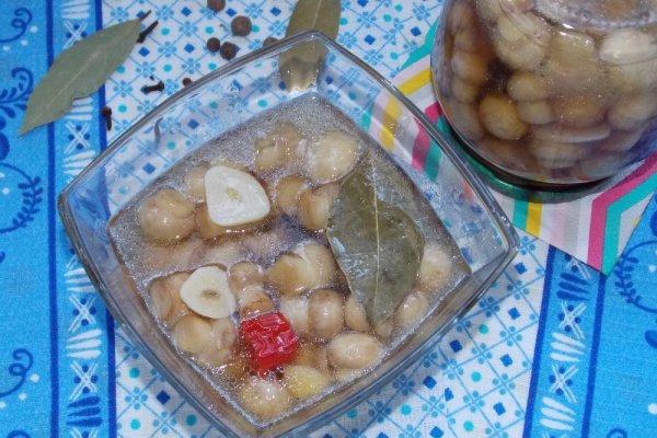Остро-сладкие маринованные шампиньоны
