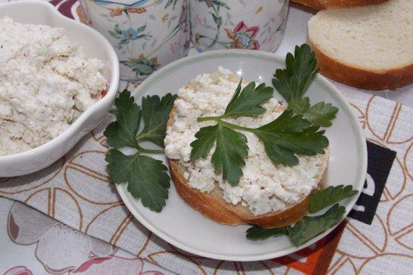 Намазка для бутербродов из творога