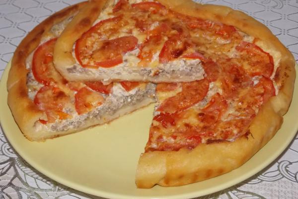 Картофельное тесто для пирога с мясом