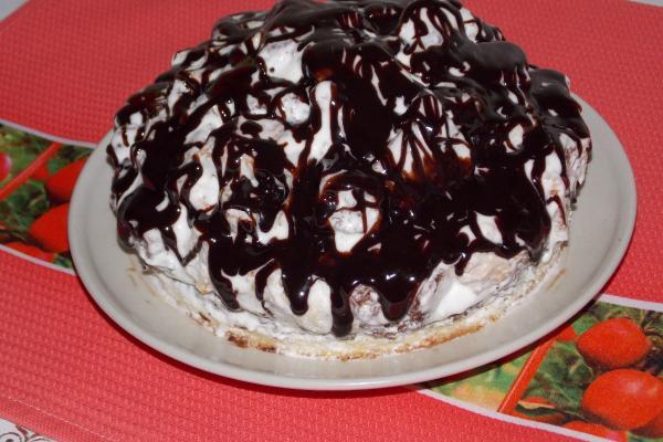Торт «Хлопец кучерявый»