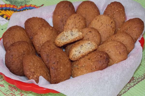 Печенье из семечек и орехов