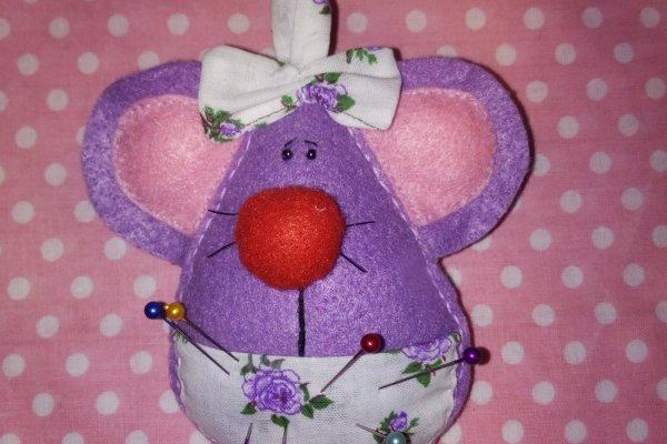 Шьем игольницу «Веселая мышка»