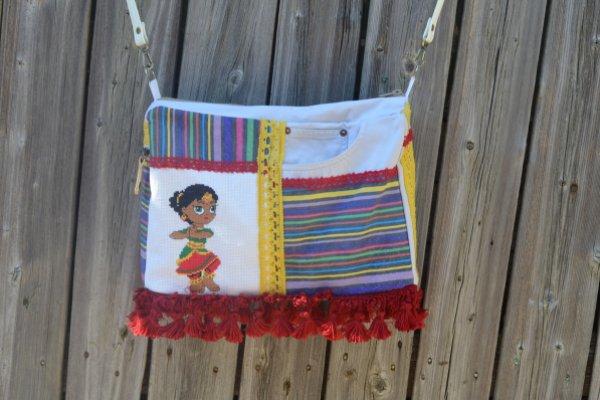 Шьем сумочку в индийском стиле