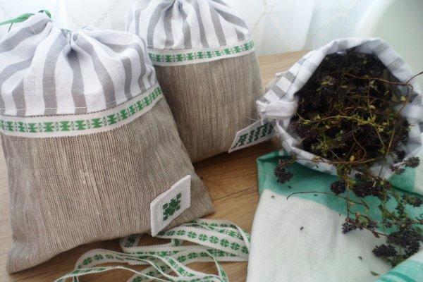 Шьем мешочки для сушеных трав