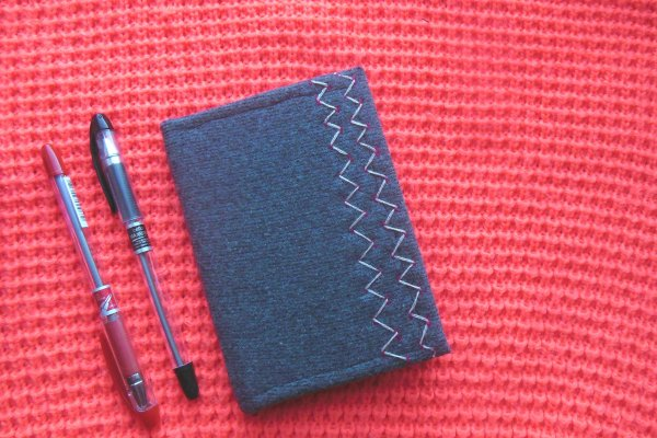 Делаем плотную отделку для записной книжки или блокнота