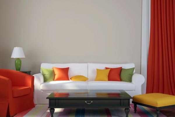 Как освежить интерьер жилой комнаты без ремонта?