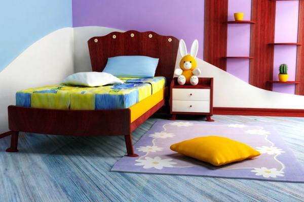 Оформление детской комнаты — уют в сочетании со сказкой