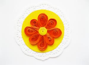 Мастер-класс: цветок в технике квиллинг
