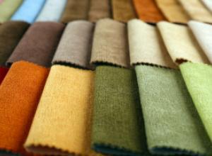 Выбор ткани для интерьера