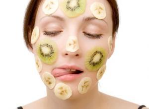 Банановая маска против старения