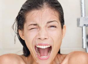 Закаливание холодным душем