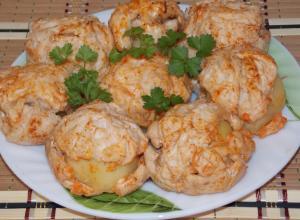 Картофель в «шубе»