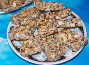 Домашние козинаки из семечек и арахиса