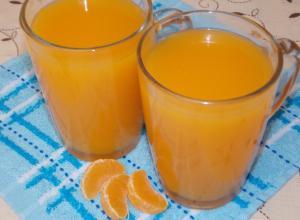 Облепихово-мандариновый кисель