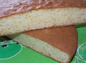 Шифоновый бисквит с ароматом ванили