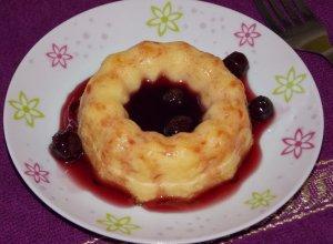 Творожно-яблочный пудинг в духовке