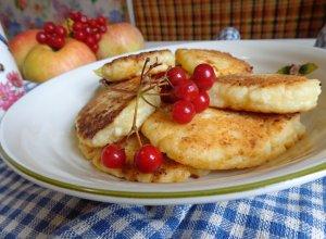 Сырники с яблоком «Мамино солнышко»