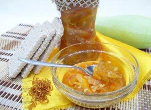 Варенье из кабачков с апельсинами