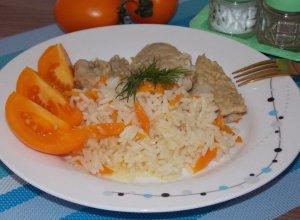 Рис со свининой в мультиварке