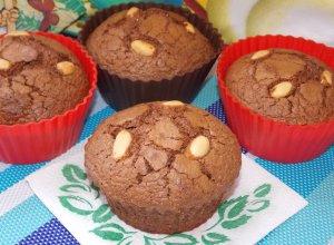 Ореховые кексы с шоколадом