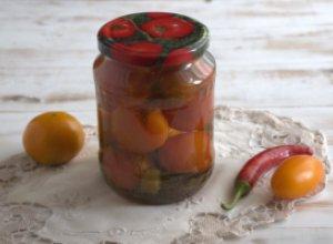 Маринованные острые помидоры по-армянски