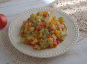 Испанское соте из овощей «Писто»