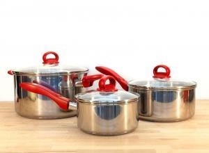 Как выбрать кастрюли и прихватки для вашей кухни?