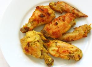 Маринованная курятина, жаренная на сковороде