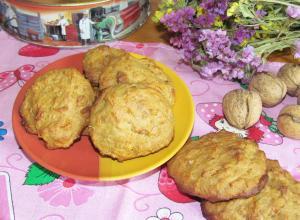 Печенье с медом, корицей и тыквой