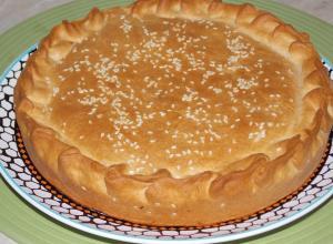 Египетский пирог «Хегазея»