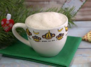 Кофе с плавленым сырком