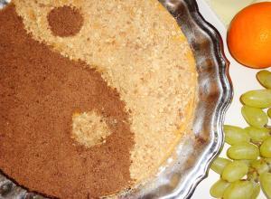 Торт «Инь-Янь»