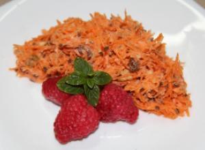 Диетический салат «Чистые сосуды»