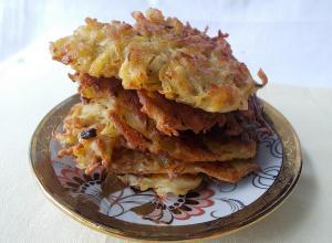 Картофельные оладьи «Пряные»