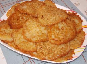 Драники из кабачка и картофеля
