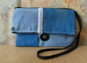 Шьем сумку-трансформер из старых джинсов