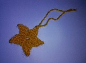 Мастер-класс по вязанию рождественской звезды крючком
